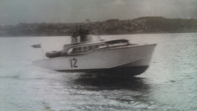Monaco - Fortuna in the 1961 Cowes Torquay Race (Race number 12)