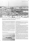 Motor Boat and Yachting - 19th September 1969 - Race Report - Round the Isle of Wight in under an hour. Miss Enfield wins the Bollinger Goblet - Report by Ray Bulman