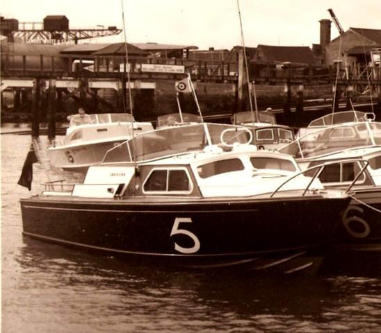 Contango A - 1961... notice RAFYC pennant...